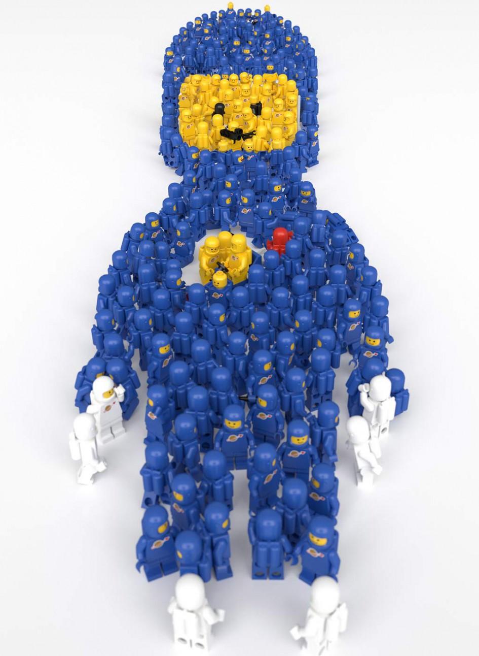 LEGO Spaceman! | © aido k / Flickr