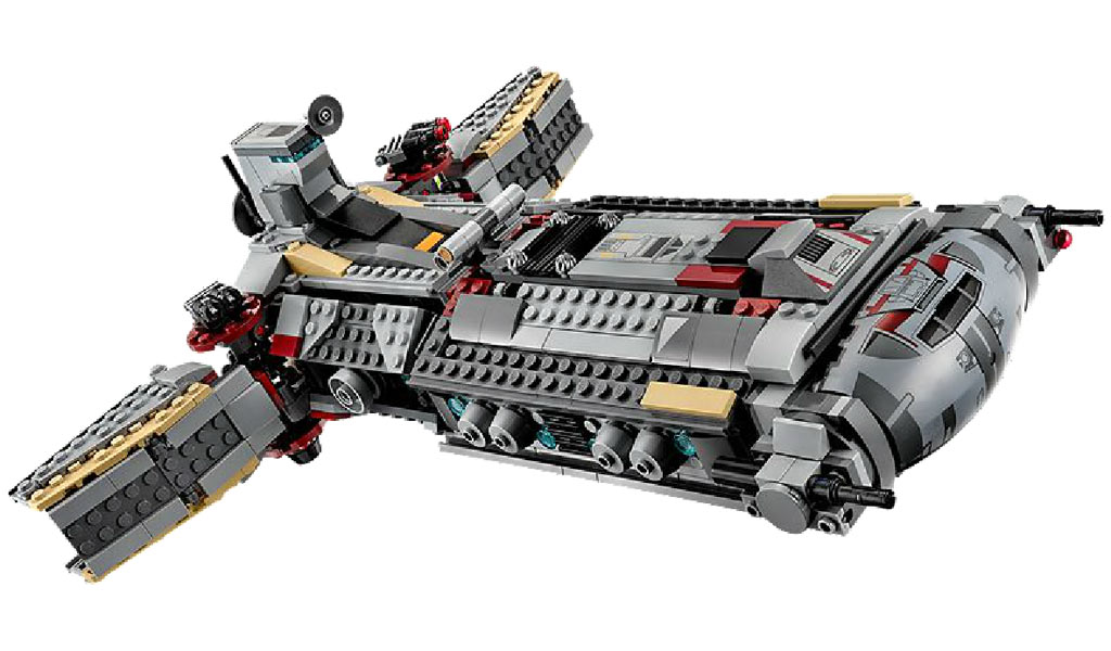 Rebellen-Schiff im Anflug | © LEGO Group