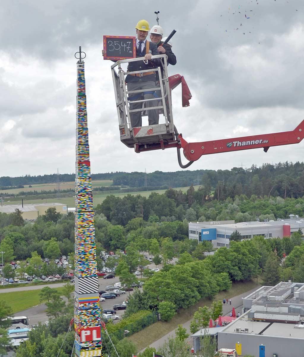 Geschafft: Rekord geknackt! | © LEGOLAND Deutschland Resort