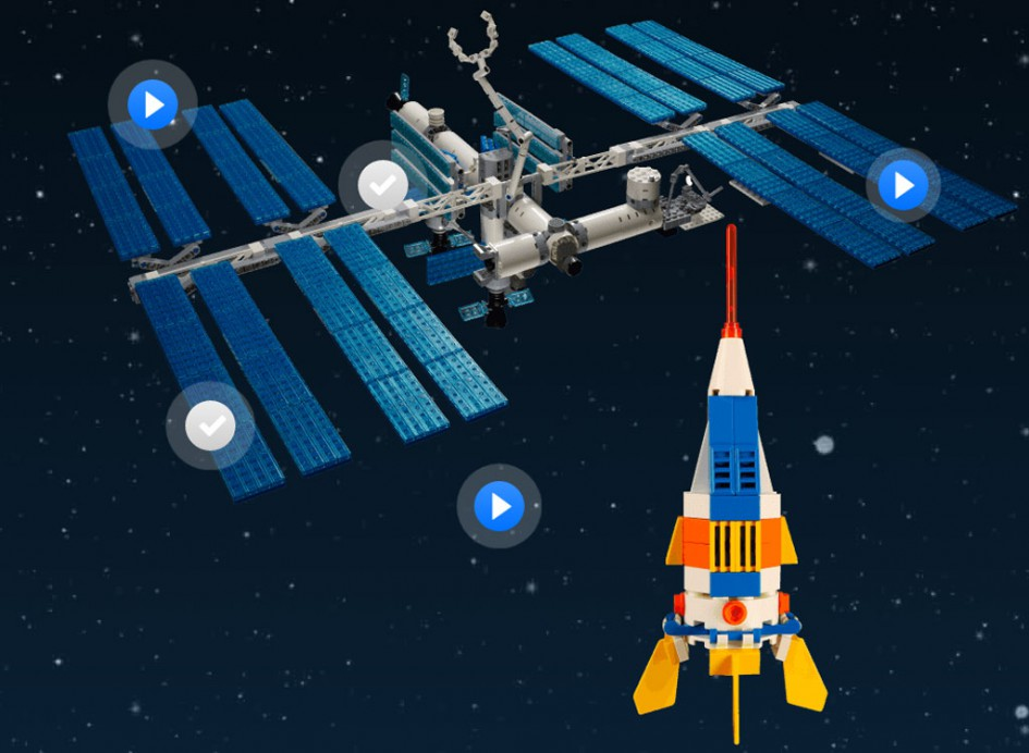 ISS | © LEGO Group / NASA