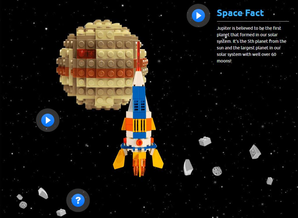 Der Jupiter wurde erreicht. | © LEGO Group / NASA