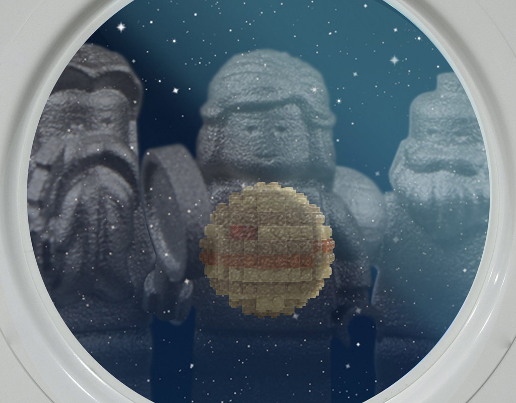 Da ist ja der... Jupiter! | © LEGO Group