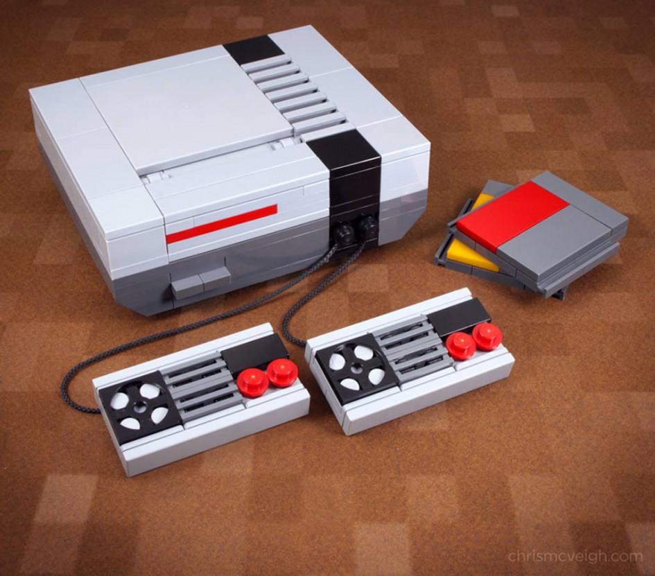 Dank Chris McVeigh gab es bereits eine Neuauflage des NES. Und nun das! | © Chris McVeigh