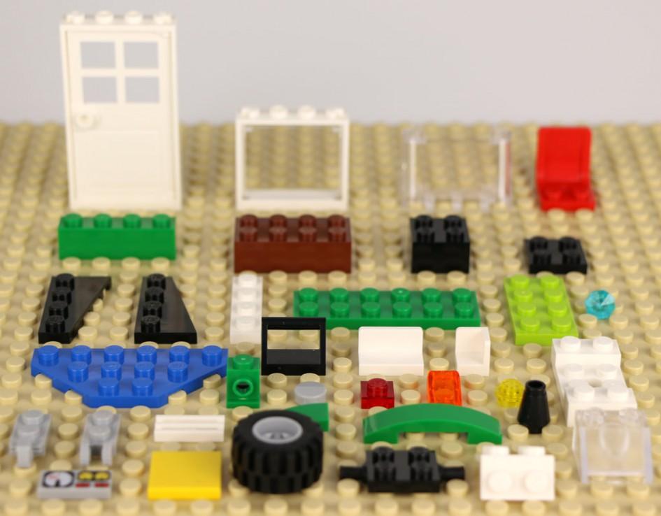 Pick a Brick: Juli 2016 im Hamburger LEGO Store | © Andres Lehmann / zusammengebaut.com