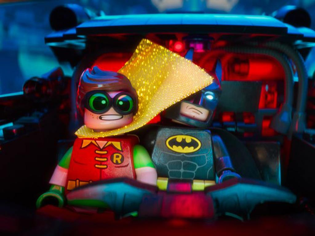 """The LEGO Batman Movie"": Hey, ich kann nichts sehen! 