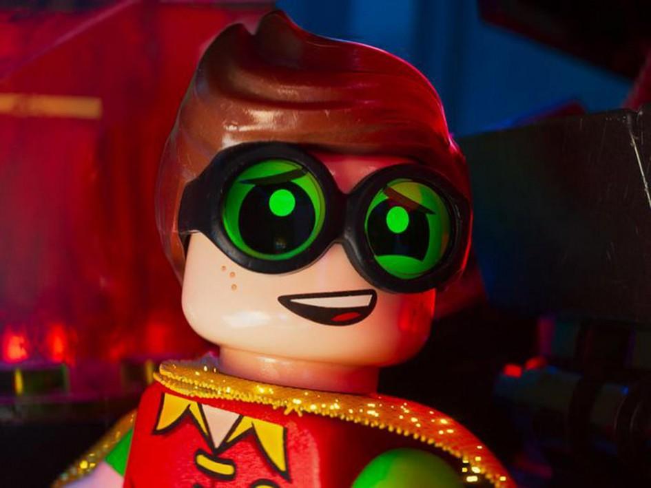 Robin macht große Augen!   © LEGO Group / Warner Group Pictures