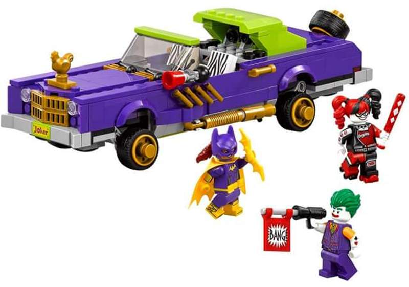 The Joker's Notorious Lowrider | © LEGO Group