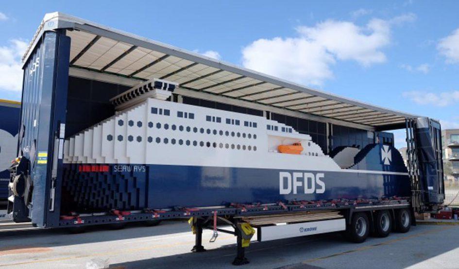 Steinige DFDS-Fähre | © DFDS