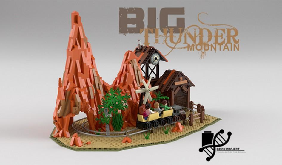 LEGO Ideas: Disneyland Big Thunder Mountain | © BrickProject / LEGO Ideas