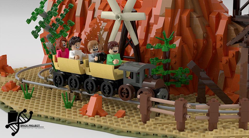 Und ab geht die Post! | © BrickProject / LEGO Ideas