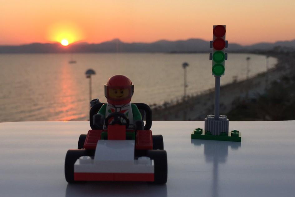 LEGO Go-Kart   © Andres Lehmann / zusammengebaut.com