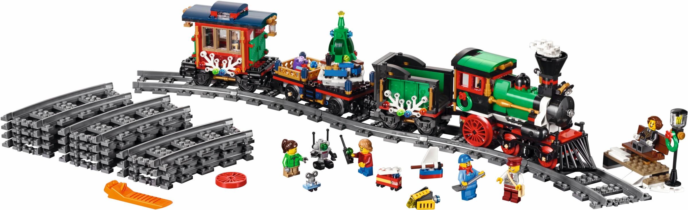 Weihnachtlicher Zug | © LEGO Group