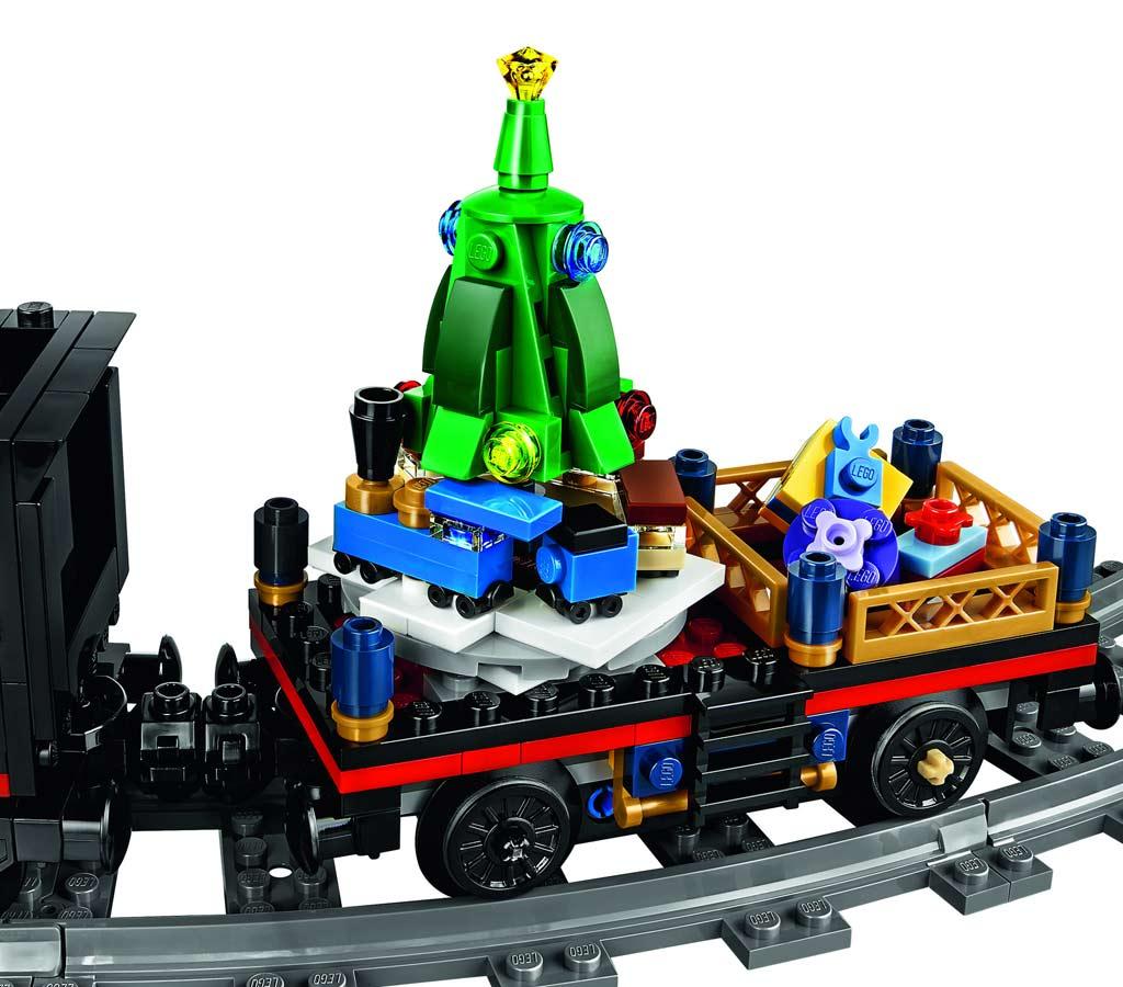 Drehender Weihnachtsbaum | © LEGO Group