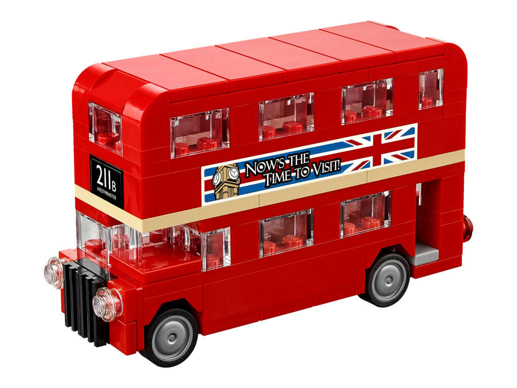 Kultiger Doppeldecker-Bus | © LEGO Group
