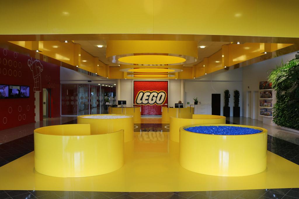LEGO Hauptquartier | © Andres Lehmann / zusammengebaut.com