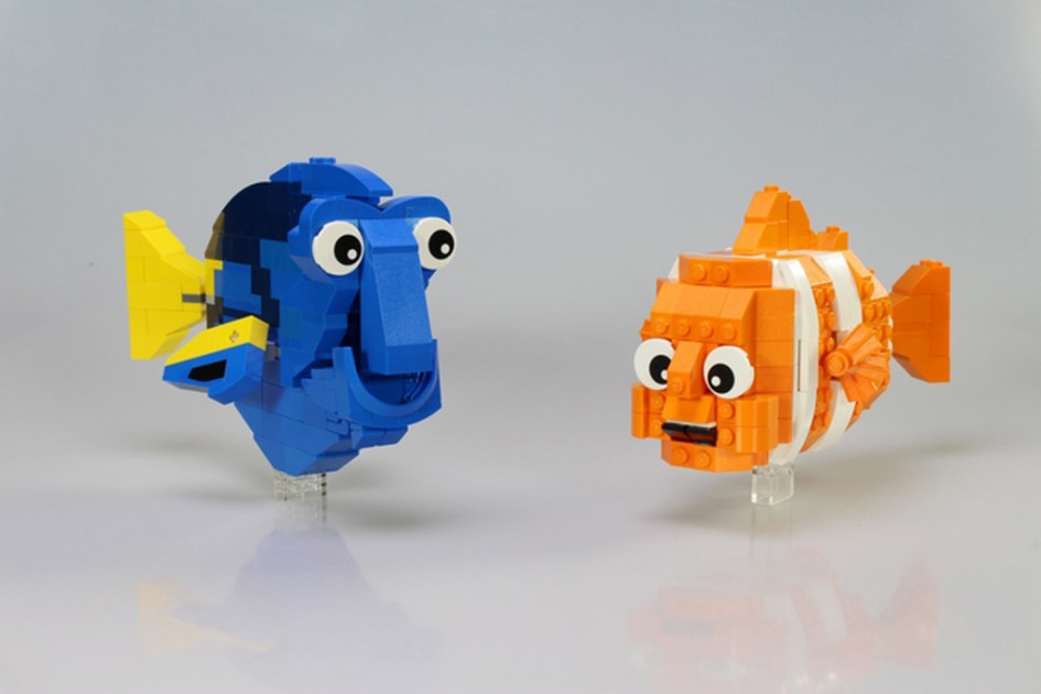 Dory und Nemo | © DigitalWizards / LEGO Ideas