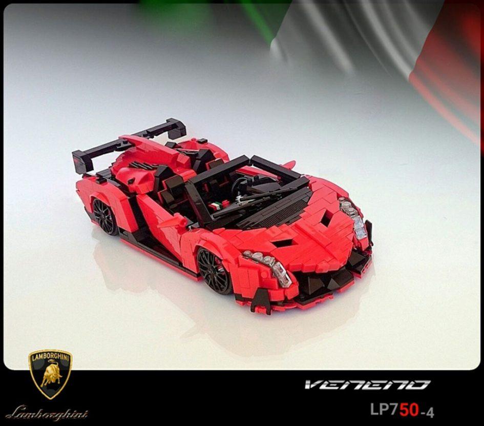 Lamborghini Veneno Roadster   © Firas_supercar  / LEGO Ideas