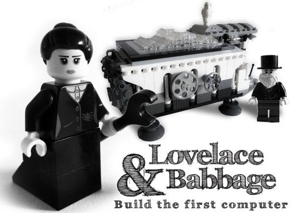 """""""Lovelace & Babbage""""   © stubot / LEGO Ideas"""