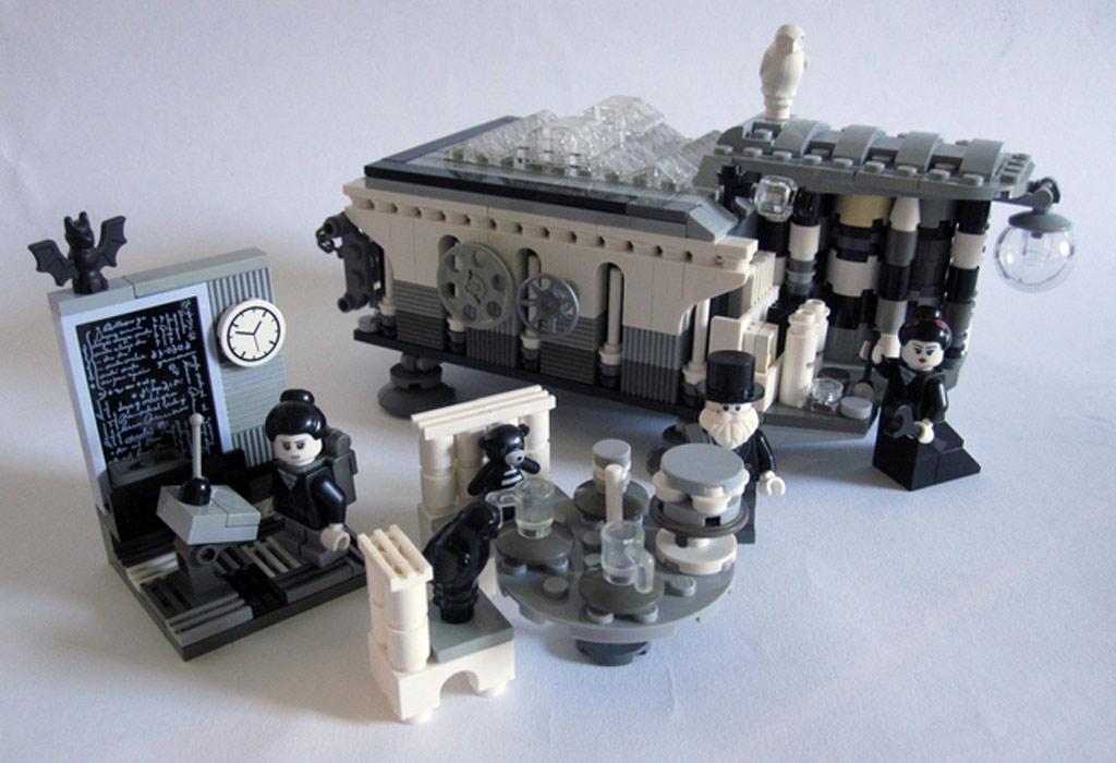 Gesamtes Szenario | © stubot / LEGO Ideas