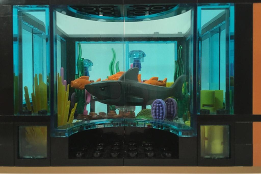 Tropen-Aquarium | © Pedilego / LEGO Ideas