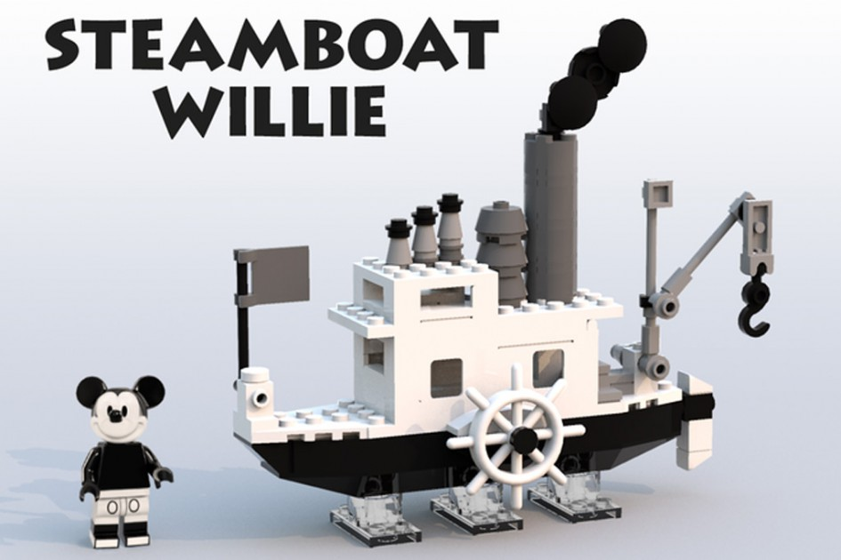 Steamboat Willie | © szabomate90 / LEGO Ideas