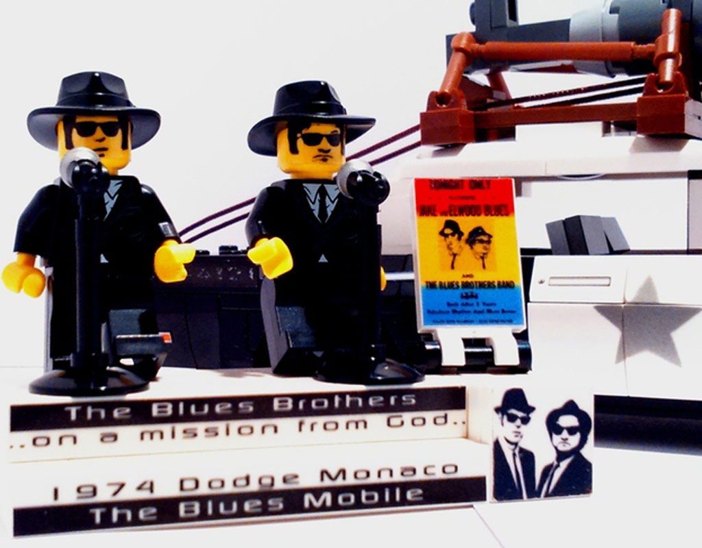 Zwei, die den Blues haben! | © eini1971 / LEGO Ideas