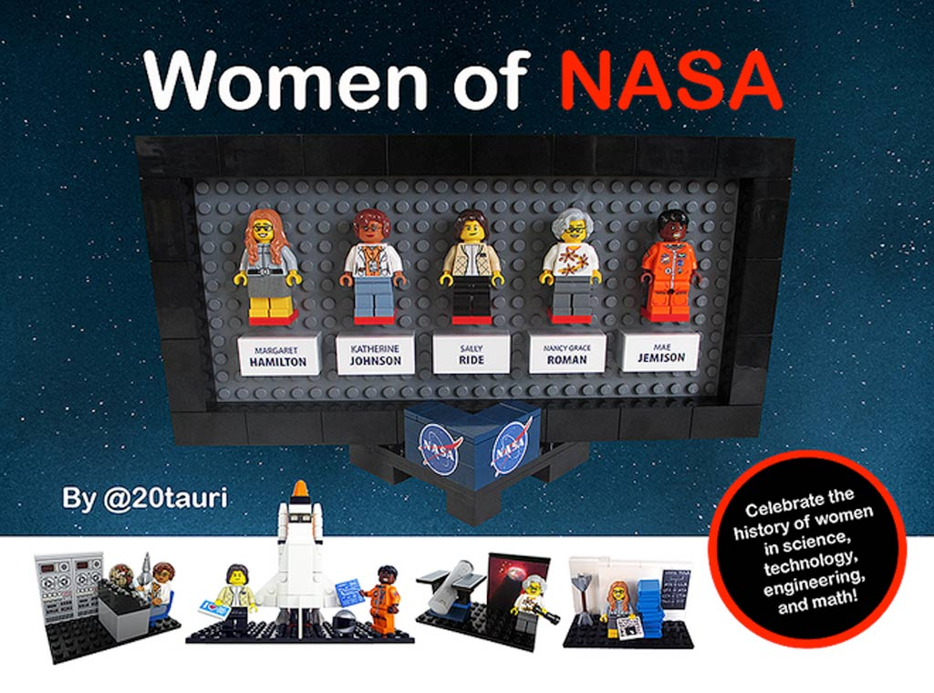 Frauen der NASA | © 20tauri / LEGO Ideas