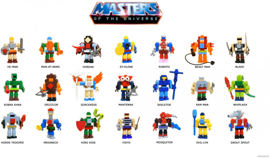 Masters of the Unverse! | © LegoJalex