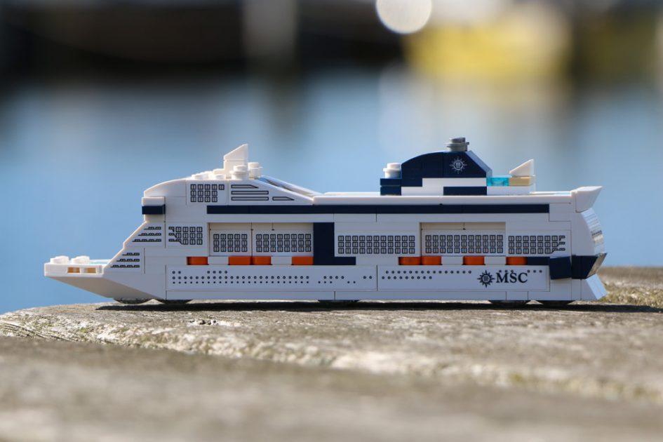 LEGO MSC Meraviglia (40227) | © Andres Lehmann / zusammengebaut.com