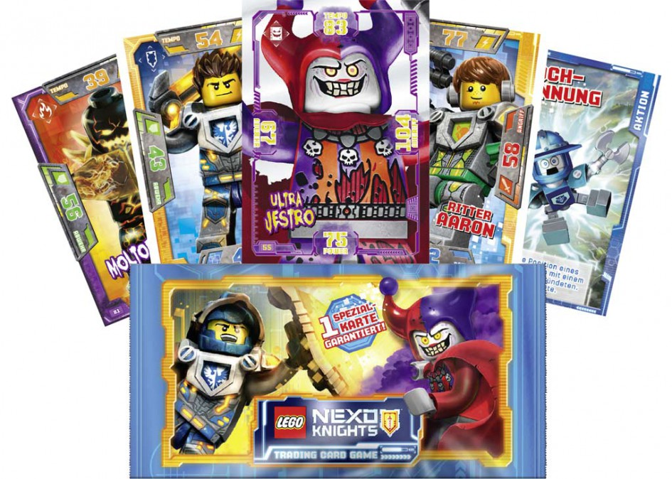 LEGO Nexo Knights Trading Card Game | © Blue Ocean