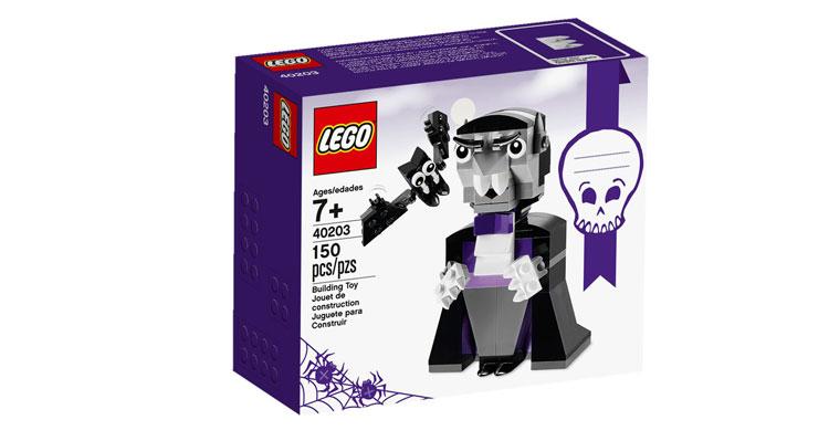 Box mit Vampir und Fledermaus | © LEGO Group