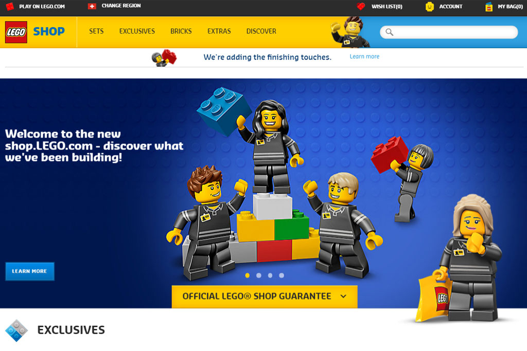 Neues Shoppen | © LEGO Group