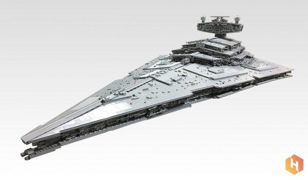 LEGO MOC: Star Wars Imperial Star Destroyer   © OliveSeon