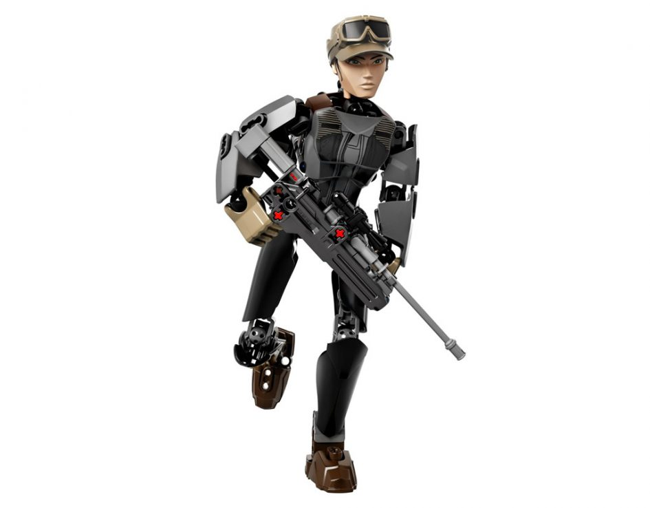 """LEGO """"Rogue One: A Star Wars Story"""" Jyn Erso (75119)   © LEGO Group"""