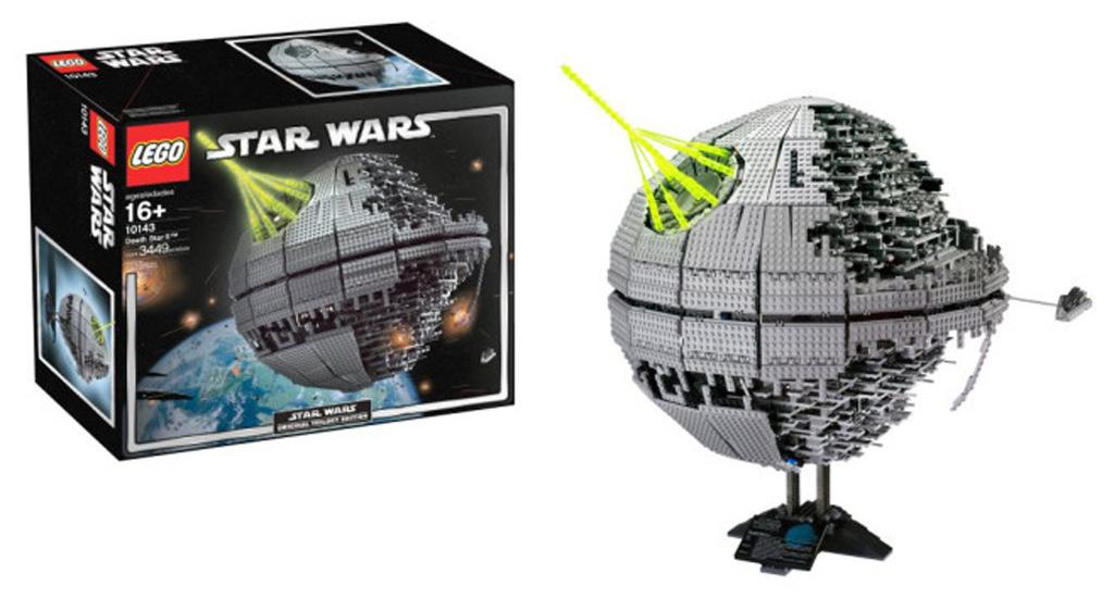 Der erste LEGO Todesstern (10143) | © LEGO Group
