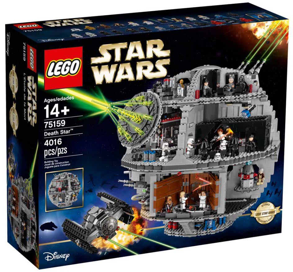 lego star wars todesstern 75159 offiziell vorgestellt. Black Bedroom Furniture Sets. Home Design Ideas