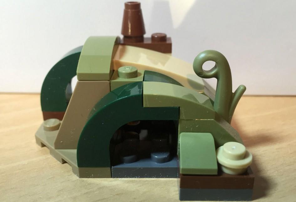 lego star wars magazin yodas h tte im review zusammengebaut. Black Bedroom Furniture Sets. Home Design Ideas