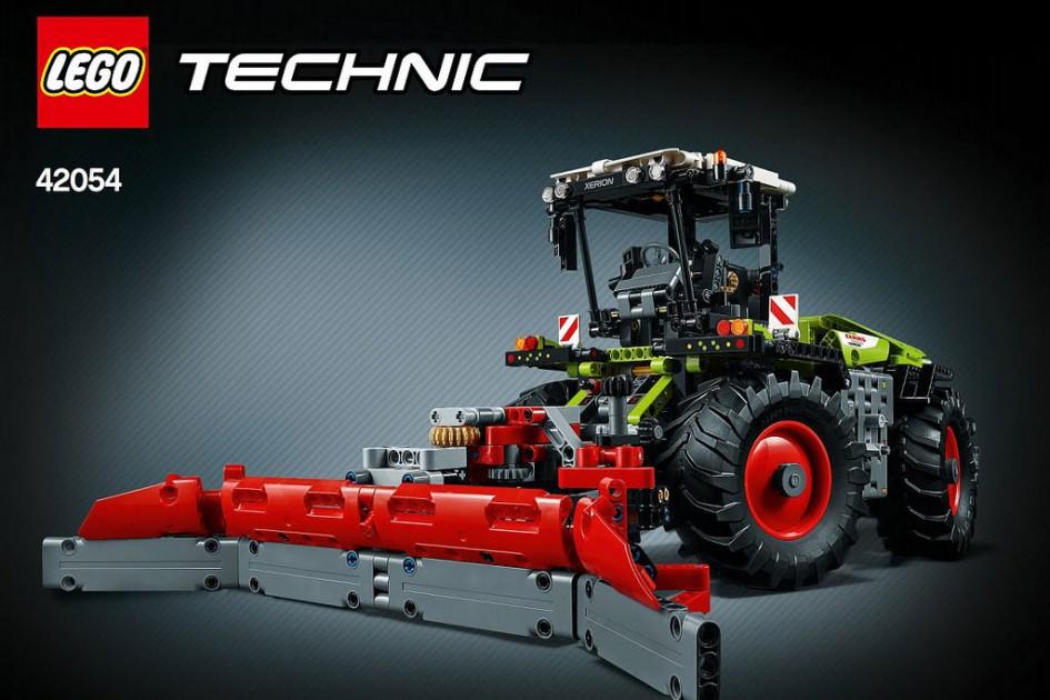 So geht es natürlich auch: B-Modell des Claas Xerion 5000 Trac VC (42054) | © LEGO Group