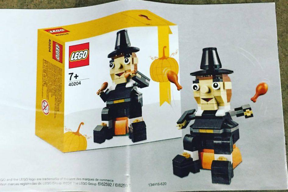 LEGO Thanksgiving Seasonal Set (40204): | © BrickVibe Facebook