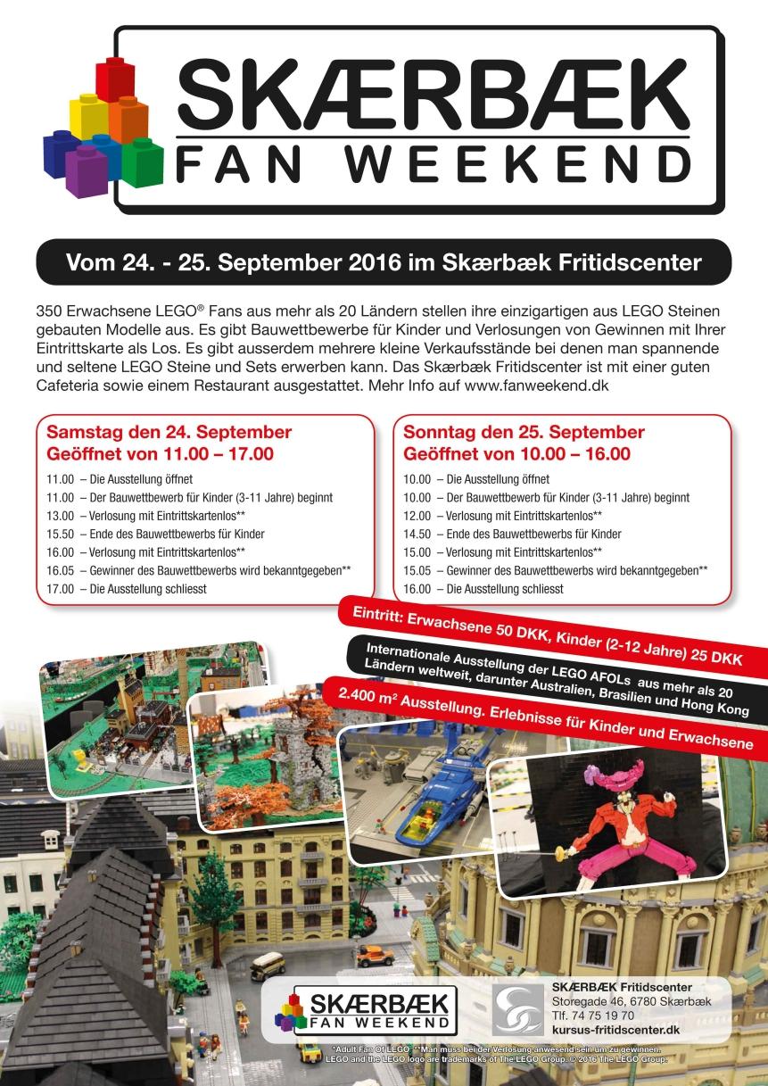 Programm: Skaerbaek Fan Weekend 2016 | © Andres Lehmann / zusammengebaut.com