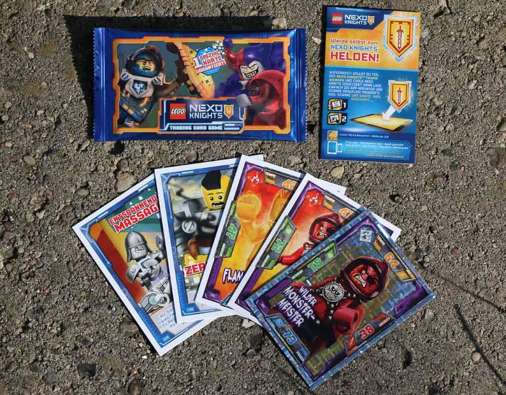 Nexo Knights Trading Card Game | © Andres Lehmann / zusammengebaut.com