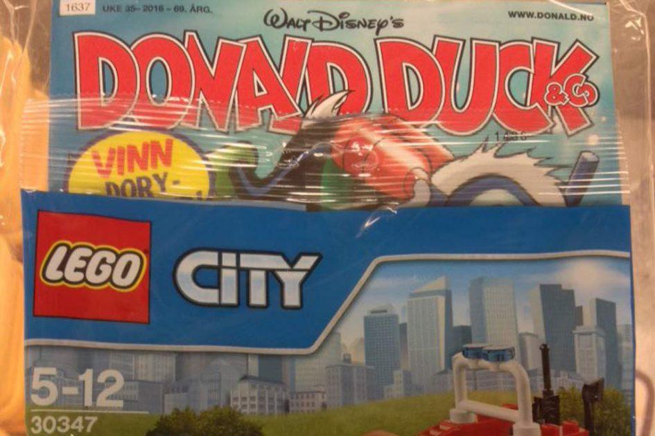 Donald Duck und die Feuerwehr | © Will Vdh / Twitter