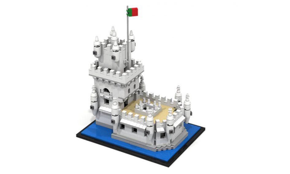 LEGO Ideas MOC Lisboa Torre de Belém | © Matthias Kuhnt / zusammengebaut.com