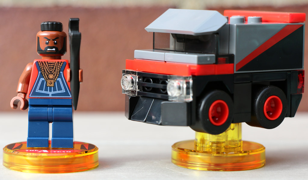 LEGO Dimensions: Das A-Team Fun Pack (71251) | © Andres Lehmann / zusammengebaut.com