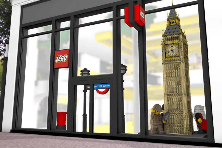 LEGO Flagship Store in London | © LEGO Group