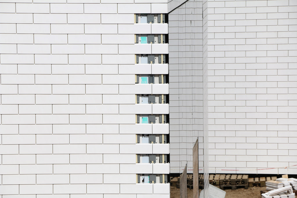 Fassadenarbeiten | © Andres Lehmann / zusammengebaut.com
