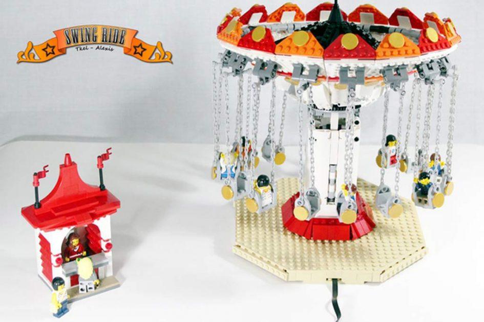 LEGO Ideas MOC: Swing Ride! | © tkel86 / LEGO Ideas