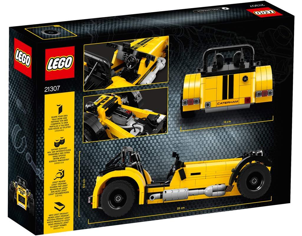 Schcker Karton mit Detailansichten | © LEGO Group