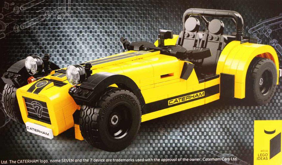 LEGO Ideas Caterham Seven 620R (21307) | © Andres Lehmann / zusammengebaut.com