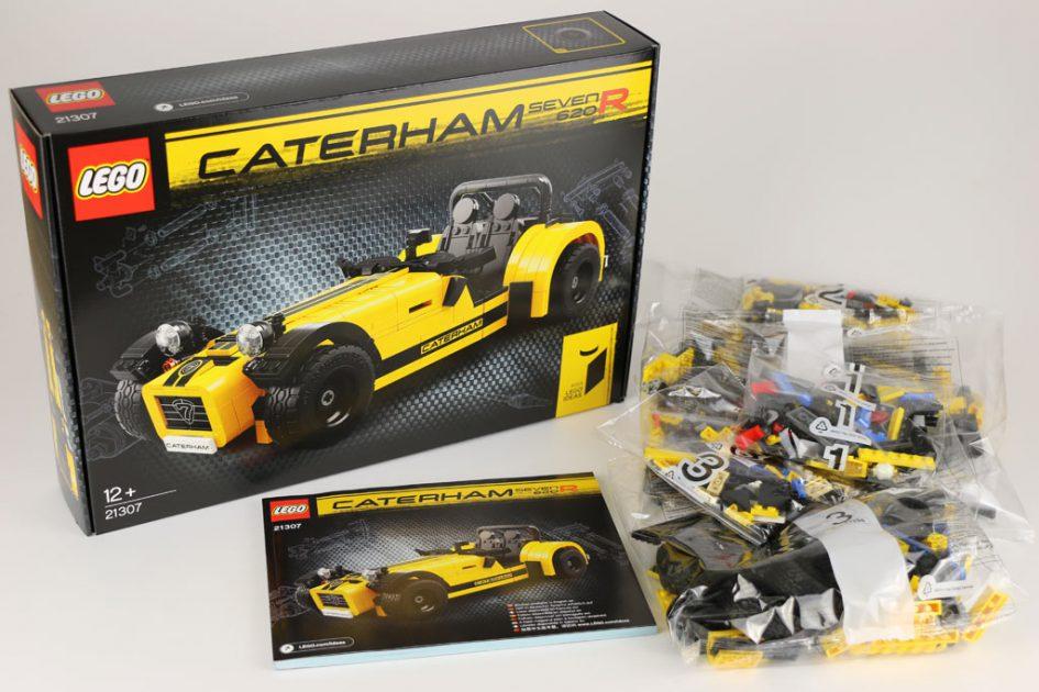 LEGO Ideas Caterham Seven 620R (21307) ausgepackt | © Andres Lehmann / zusammengebaut.com